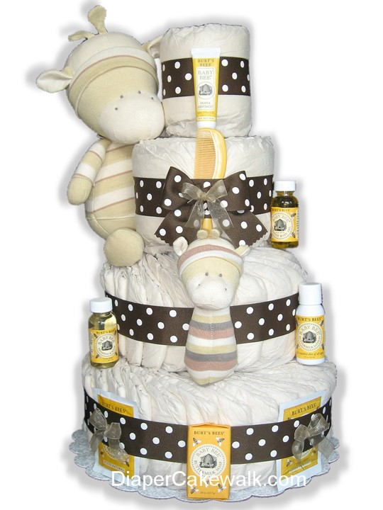 EcoFriendly diaper cake
