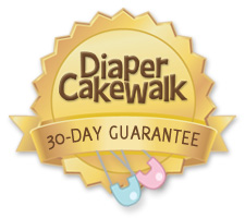 Diaper Cake Walk - 30 Day Guarantee